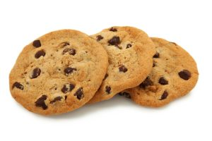 cookies chocolat pour symboliser les cookies internet