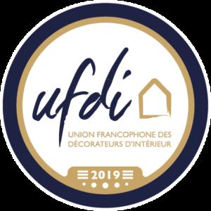 Logo Membre UFDI Bretagne : Professionnels de la Décoration et de l'Architecture intérieure.
